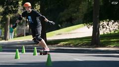 DSC06804-p (Myprofe) Tags: skateboard slalom madrid downhill moncloa westpark skate