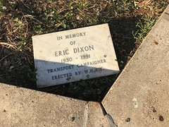 In memory of Eric Dixon (Matt From London) Tags: ericdixon plaque memorial 1991 1930 what westhampstead