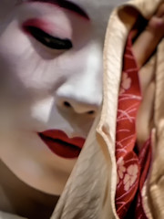 Beauty Can't be Hidden No. 2 (Rekishi no Tabi) Tags: geiko geisha geigi maiko apprenticegeisha kyoto gion karyukai japan leica portrait