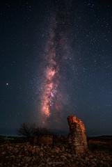 Stars & Ruins Revisited (Matt Rimkus Photography) Tags: nightlights nightshot ruin nightscape crete stars milkyway nightsky aptera kreta griechenland gr