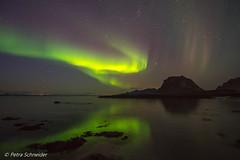 Aurora in Engeløya Steigen (Petra Schneider photography) Tags: engeløya steigen norge nordnorwegen northernnorway nordlys northernlights nordlicht polarlicht polarlichter auroraborealis auroresboréales d750 nikon