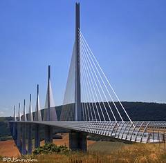 Millau Viaduct (Wipeout Dave) Tags: aveyron millau millauviaduct normanfoster michelvirlogeux davidsnowdonphotography bridge viaduct france francais architecture
