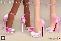 Fran Platforms (Ashleey Andrew) Tags: garbaggio sl secondlife second life virtual world fashion apparel accessories footwear shoes original mesh shoe blush platform