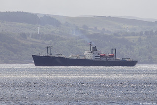 USTS (United States Training Ship) Empire State, IMO 5264510; Firth of Clyde, Scotland