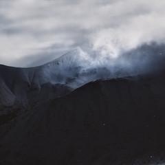Blue (Weisimel) Tags: snow mountains art snowing nikon d800