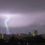 Lightning at Sunshine 60, Ikebukuro, Tokyo thumbnail