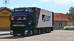 MDG Team | Daf XF 106 (Marius NMG) Tags: daf xf 106 mdg team frigo mafia ets2 road tree