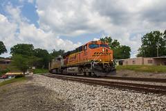 Got Coal? (travisnewman100) Tags: bnsf cnampam burlington northern santa fe railroad train freight unit coal cordova alabama birmingham subdivision st louis division es44ac crex citirail leaser rr