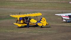 gelber Flieger (p.schmal) Tags: olympuspenf flughafenföhr doppeldecker