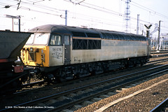 c.04/1996 - Doncaster, South Yorkshire. (53A Models) Tags: britishrail class56 56078 diesel freight doncaster southyorkshire train railway locomotive railroad