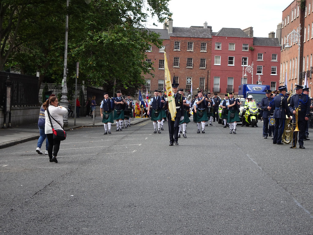 NATIONAL SERVICES DAY [PARADE STARTED OFF FROM NORTH PARNELL SQUARE]-143664
