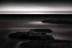 Pacific Outreach (StefanB) Tags: 1235mm 2017 california coast em5 geotag longexposure monochrome pacific santacruz seascape fourmilebeach horizon sea ocean mood