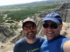 Badlands Selfie (TagDragon) Tags: park selfie roadtrip vacation nps 2018 badlandsnationalpark
