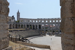 DSC01148 (kriD1973) Tags: croatia croazia kroatien croatie hrvatska istra istria istrien pola pula anfiteatro arena ancient roman romano antico