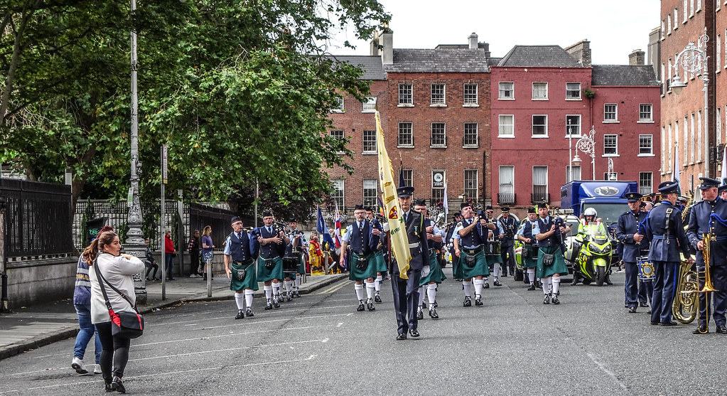 NATIONAL SERVICES DAY [PARADE STARTED OFF FROM NORTH PARNELL SQUARE]-143663
