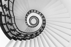 Spiral 1 (garyloughran) Tags: staircase spiral architecture stairs hamburg germany monochrome black white