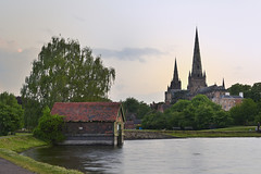 Lichfield Cathedral 26/05/2018 (Gary S. Crutchley) Tags: lichfield cathedral stowe pool uk great britain england united kingdom gothic nikon d800 history heritage travel raw staffordshire staffs urban church of cofe anglican religion christianity faith worship