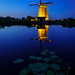Blue hour molen Kinderdijk 2018