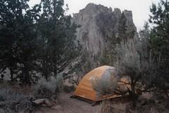 Smith Rock State Park 25, 2018 (Sara J. Lynch) Tags: sara j lynch nikon n50 35mm film smith rock state park oregon terrebonne tent camping sage juniper bivouac