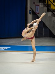 MILENA BALDASSARRI (Luigi_1964) Tags: ritmica desio paladesio rhythmicgymnastics ginnasticaritmica milenabaldassarri italy atletic girl sport