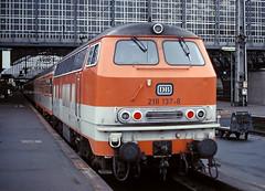 DB 218 137 (maurizio messa) Tags: citybahn br218 nordrheinwestfalen bahn mau ferrovia treni trains railway railroad germania germany yashicafxd