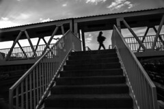 20180909__DSC04400.jpg (Lea Ruiz Donoso) Tags: silueta silhouette black white blanco negro monochrome monocromo arquitectura puente pasarela spain españa madrid europe europa sombra shadows sombras bridge contraluz lineas backlight paisaje urban landscape sony learuizdonoso