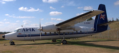 Fokker F-27-200 G-BHMY (707-348C) Tags: norwichairmuseum norwich prop propliner turboprop airliner passenger gbhmy fokker fokkerf27 airuk egsh museum england 2018 preserved dart