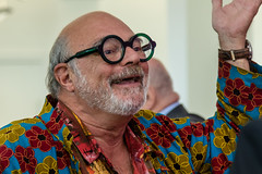Jean Luc (teltone) Tags: royaldeluxe giants liverpool thedream artists spectacular pressconference cunardbuilding waterfront
