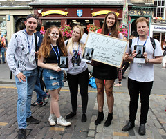 Sell 257 Scary Story (Terry Moran aka Tezzer57) Tags: scotland edinburgh promotion street people promote theroyalmile summer2018 uk streetlife scarystory girl urban