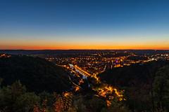 Villefranche de Rouergue (benitoorion) Tags: villefranchederouergue occitanie france fr aveyron midipyrénées landscape cityscape bluehour heurebleue nightscape