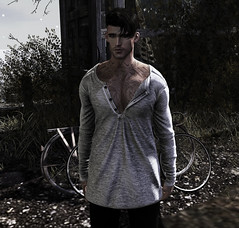 It's your breath in my lungs. (MATTY // *OMG*) Tags: sl secondlife photography photo male avatar avi 3d world style fashion blogger blog mesh lotd outfit ascend tmd themensdept event clothes