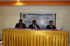 IMG_1446 (D Hari Babu Digital Marketing Trainer) Tags: national seminar digital marketing iimc hyderabad