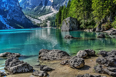 Braies (giannipiras555) Tags: braies verde nikon panorama landscape natura riflessi