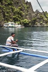 His Daily Life (Krikor A.) Tags: philippines lake cruise island hopping local nature sea mountain twin lagoons coron palawan