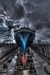 Étrave (3quilibre) Tags: nikon d750 1424f28 bateau paquebot cruiseship edge nuage ciel