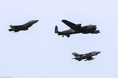 Lightning II, Lancaster and Tornado (Aeroplanes Everywhere) Tags: aircraft formationflying jets militaryaircraft warbird avro warbirds bomberaircraft lightning fighteraircraft raf lancaster fighter military coldwarjet 2enginedaircraft attackaircraft 4enginedaircraft lockheed bbmf battleofbritainmemorialflight fighterbomber multiroleaircraft airshows lockheedmartin singleenginedaircraft multirole canoneos7dmark2 aviation battleofbritainairshow 100mm400mm duxford tornado 617 squadron