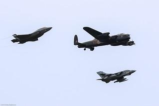 Lightning II, Lancaster and Tornado