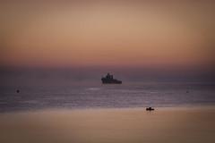 Red Dawn (ibzsierra) Tags: red dawn amanecer rojo mar sea mer mare barco bateau ship vessel ibiza eivissa baleares canon 7d