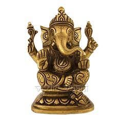 Lambodar Ganesha Statue in Brass | From Vedic Vaani™ (vedicvaani.com) Tags: lambodar ganesha ganesh ganpati vighanharta lord statue brass idol idle sculpture sculptors god shining bras antic gold finish murthi flows towards devotees deity hindu hinduism devotion divinity mirabai sant tukaram shri ramakrishna paramhansa yogananda vedic vaani