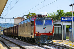E652.173 MIR Gorizia (simone.dibiase) Tags: train station stations rail rails railway railways italy italia france francia loco locos locomotive locomotiva ferrovie dello stato italiane fs mercitalia mir mirrail nikon d3300 dslr camera nikond3300 passion passione trainspotter best picture world simone di biase simonedibiase fx logistics stazione colori rfi linea carrozze fotografia spotting trainspotting around worls scenery landscapes eisenbahn schienen experience pomeriggio gorizia personale macchina simpatico 173 e652 652 natural fun nature art light city