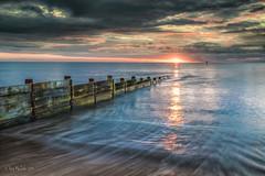 DSC02563- Auld groyne at sunrise (Ray McIver Photography) Tags: blyth groynes sept18 beach goodsky hightide sunrise