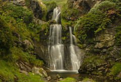 Waterfall (xavrol) Tags: water waterfall pyrenees green mountain
