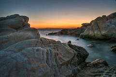 Sunrise at Karidi Beach 2 (viktoria_sohm) Tags: griechenland sun sunrise color stone rocks water sea blue waster meer steine felsen sonne sonnenaufgang