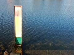 Faded Depth (mikecogh) Tags: glenelg patawalonga meter sign indicator depth faded