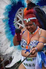 DSC_8509 Notting Hill Caribbean Carnival London Exotic Colourful Costume Girls Dancing Showgirl Performers Aug 27 2018 Stunning Ladies (photographer695) Tags: notting hill caribbean carnival london exotic colourful costume girls dancing showgirl performers aug 27 2018 stunning ladies