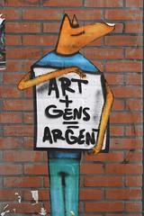 Art + Gens = Argent (just.Luc) Tags: letters lettres words mots woorden wörter france frankrijk frankreich francia frança parijs parigi paris îledefrance think meaning urbanart streetart graffiti grafitti