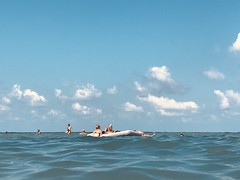 Untitled (marcus.greco) Tags: sea people water sky cloud