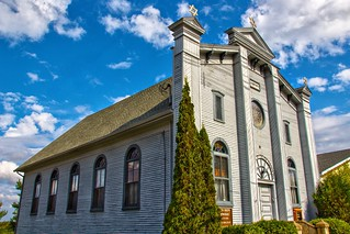 Tupper Lake  New York - Beth Joseph Synagogue - Historic  Building