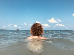 Untitled (marcus.greco) Tags: water woman sea portrait back hair