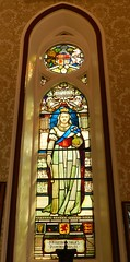 Her Majesty Queen Victoria's Diamon Jubilee, 20th June 1897, Stained Glass Window, City Chambers, Town House, Inverness, Aug 2018 (allanmaciver) Tags: diamond jubilee queen victoria 20 june 1897 city chambers inverness highlands allanmaciver